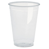 Cube Filters Two Ply Cube Filters: Pactiv Clear Plastic PETE Cups