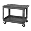 Quantum Storage Systems Industrial Strength Flat Top Polymer Utility Cart QNT PFTC4026-33-2