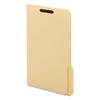 Pendaflex Top Tab Fastener Folder, 1/3 Cut Top Tab, Legal, 18 Point, Manila, 50/Box PFX 1953718