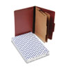 Pendaflex Pendaflex® Four-, Six-, and Eight-Section Pressboard Classification Folders PFX 2257R