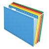 Pendaflex Pendaflex® Colored Reinforced Hanging File Folders PFX 415315ASST