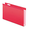 Pendaflex Pendaflex® Extra Capacity Reinforced Hanging File Folders with Box Bottom PFX 4153X2RED