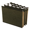 Clean and Green: Pendaflex® Ready-Tab® Extra Capacity Reinforced Colored Hanging File Folders with Box Bottom