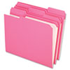 Clean and Green: Pendaflex® Double-Ply Reinforced Top Tab Colored File Folders