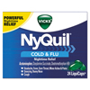 Cough Cold Cough Syrup: Vicks® NyQuil™ Cold & Flu Nighttime LiquiCaps