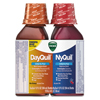 Cough Cold Cough Syrup: Vicks® DayQuil™/NyQuil™ Cold & Flu Liquid Combo Pack