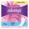 Feminine Hygiene Maxi Pads: Always® Dailies Thin Liners