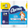 Ultra Soft Bathroom Tissue, 2-Ply, 4 x 3.92, 142 Sheets/Roll, 4 Rl/Pk, 12 Pk/Ct