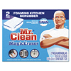 Cleaning Chemicals: Mr. Clean Magic Eraser Kitchen Scrubber