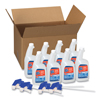 glass cleaner: Spic and Span® Disinfecting All-Purpose Spray and Glass Cleaner