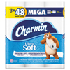Ultra Soft Bathroom Tissue, 2-Ply, 4 x 3.92, 284 Sheets/Roll, 12 RL/PK, 4 PK/CT