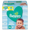Procter & Gamble Complete Clean Baby Wipes, 1 Ply, Baby Fresh, 504/Pack PGC 75473