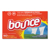 cleaning chemicals, brushes, hand wipers, sponges, squeegees: Bounce® Fabric Softener Sheets