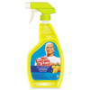 Cleaning Chemicals: Multipurpose Cleaning Solution, Lemon Scent, 32 oz Spray Bottle