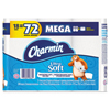 Ultra Soft Bathroom Tissue, 2-Ply, 4 x 3.92, 284 Sheets/Roll, 18 Rolls/Pack