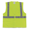Protective Industrial Products PIP Two-Pocket Zipper Safety Vest PID 1074206