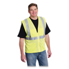 Protective Industrial Products PIP Zipper Safety Vest PID 176850