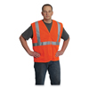 Protective Industrial Products PIP ANSI Class 2 Hook and Loop Safety Vest PID 176852