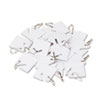 Tags Tickets Tags: Securit® Replacement Slotted Key Cabinet Tags
