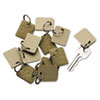 Tags Tickets Tags: Securit® Extra Blank Velcro® Key Tags