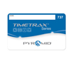 Pyramid TimeTrax Swipe Card Badges #26-50 for EZ & TEZEK PMD 41303