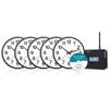 Pyramid WSCBA5 Wireless Analog Clocks in a Box Bundle PMD WSCBA5