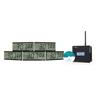 Pyramid WSCBLCD-5 Wireless LCD Clocks in a Box Bundle PMD WSCBLCD-5