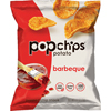 popchips: Potato Chips, BBQ Flavor, .8 oz Bag, 24/Carton
