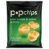 popchips: Potato Chips, Sour Cream & Onion Flavor, .8 oz Bag, 24/Carton