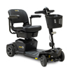 Pride Mobility Jazzy Zero Turn 4-Wheel Scooter, Onyx Black PRD JAZZY_ZT_BLACK