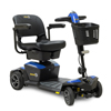 Pride Mobility Jazzy Zero Turn 4-Wheel Scooter, Sapphire Blue, FDA Class II Medical Device PRD JAZZY_ZT_BLUE