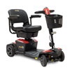 Pride Mobility Jazzy Zero Turn 4-Wheel Mobility Scooter, Fire Opal PRD JAZZY_ZT_RED