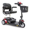 Pride Mobility Go-Go Elite Traveler 3-Wheel Mobility Scooter with 12AH Battery, FDA Class II Medical Device PRD SC40E