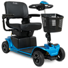 Power Mobility: Pride Mobility - Revo 2.0 4-Wheel Mobility Scooter, Blue