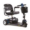 Power Mobility: Pride Mobility - Go-Go Sport 3-Wheel Mobility Scooter, Blue