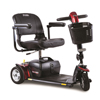 Pride Mobility Go-Go Sport 3-Wheel Mobility Scooter, Red, FDA Class II Medical Device PRD S73-RED