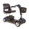Pride Mobility Go-Go Sport 4-Wheel Mobility Scooter, Blue, FDA Class II Medical Device PRD S74-BLUE