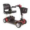 Pride Mobility Go-Go Sport 4-Wheel Mobility Scooter, Red, FDA Class II Medical Device PRD S74-RED
