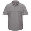 Red Kap Mens Workwear Polo Shirt UNF SK90GY-SS-5XL