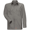 Red Kap Mens Long Sleeve Ripstop Shirt UNF SY50GY-RG-XL