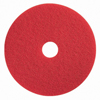 Floor Care Equipment: Boss Cleaning Equipment - Red Spray Buffing Pads