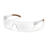 safety and security: Carhartt - Billings Anti-Fog Clear Lens with Clear Temples