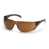 safety and security: Carhartt - Billings Sandstone Bronze Lens with Sandstone Bronze Temples
