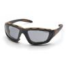 Carhartt Carthage Anti-Fog Gray Lens with with Black/Tan Frame PYR CHB420DTP