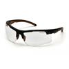 Carhartt Rockwood Anti-Fog Clear Lens with Black Frame PYR CHB710DTCS