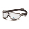Pyramex Safety Products V2G® Readers Eyewear +2.5 Clear Lens with Black Strap/Temples PYRGB1810STR25