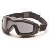 Pyramex Safety Products V2G-XP™ Eyewear Dual Gray Anti-Fog with Black Frame PYR GB6420SDT