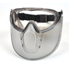 Pyramex Safety Products Capstone® Shield Goggle Combo with Clear Lens PYRGG504TSHIELD