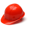 Pyramex Safety Products Cap Style 4-Point Snap Lock Hard Hat PYR HP14041