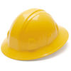 Pyramex Safety Products Full Brim Style 4-Point Ratchet Suspension Hard Hat PYRHP24130
